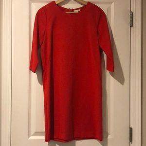 Gap red dress.